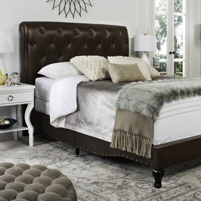 Allegany Upholstered Panel Bed Size: Queen