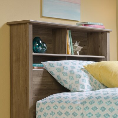 Rossford Twin Bookcase Headboard Color: Salt Oak