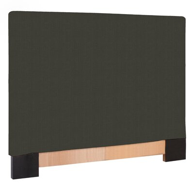 Ballenton Upholstered Panel Headboard Upholstery: Charcoal, Size: King