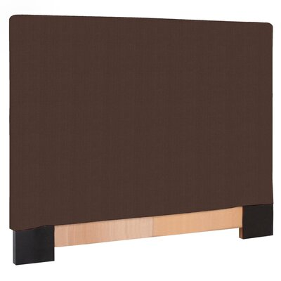 Ballenton Upholstered Panel Headboard Size: Twin, Upholstery: Chocolate