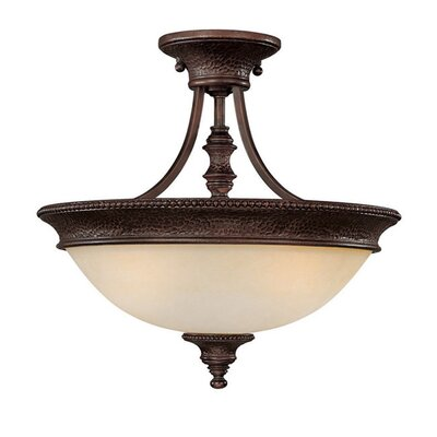 Colden 2-Light Semi Flush Mount