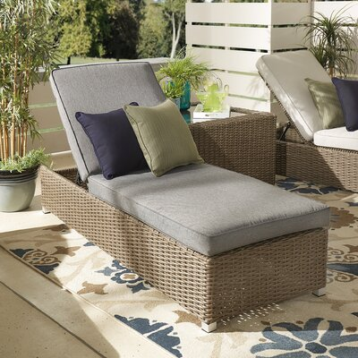 Rathdowney Lounge Chair with Cushion Fabric: Gray