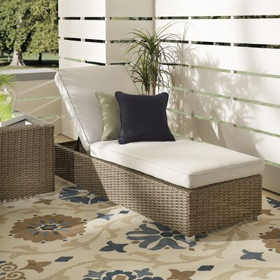 Rathdowney Lounge Chair with Cushion Fabric: Beige