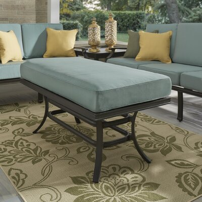 Brunelle Coffee Table Fabric: Spa Blue