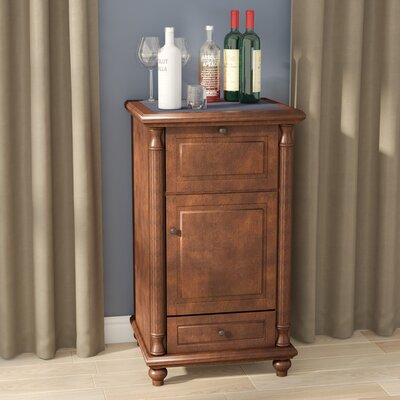 Goreville Rotating Bar Cabinet
