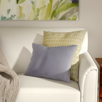 Jewett 100% Cotton Pillow Cover Color: Gray