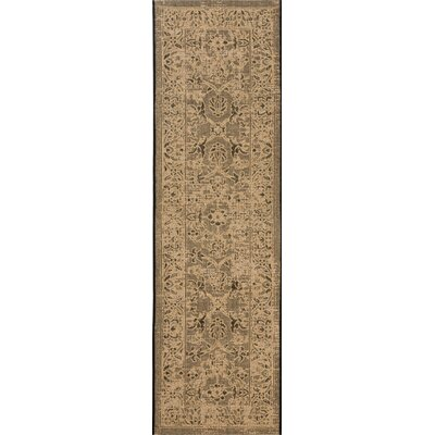 Langleyville Black/Cream Area Rug Rug Size: Rectangle 26 x 5