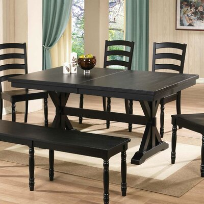 Snyder Dining Table Finish: Ebony