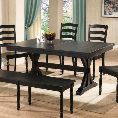 Snyder Dining Table Finish: Ebony
