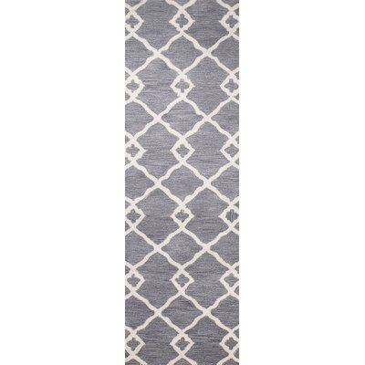 Constanza Hand-Tufted Grey Area Rug Rug Size: Runner 26 x 8