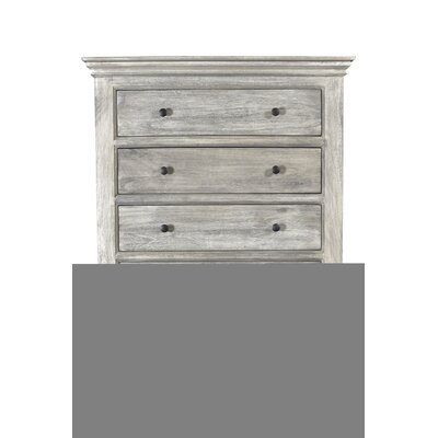 Pharsalia 5 Drawer Chest Color: Brushed Gray