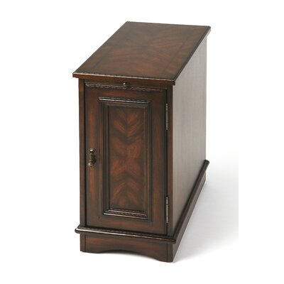 Jendring End Table Finish: Plantation Cherry