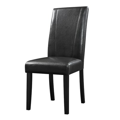 Cecil Parsons Chairs Upholstery Type - Color: Leatherette-Black