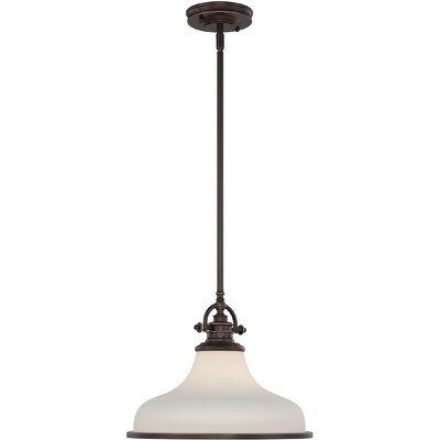 Attles 1-Light Pendant Finish: Palladian Bronze