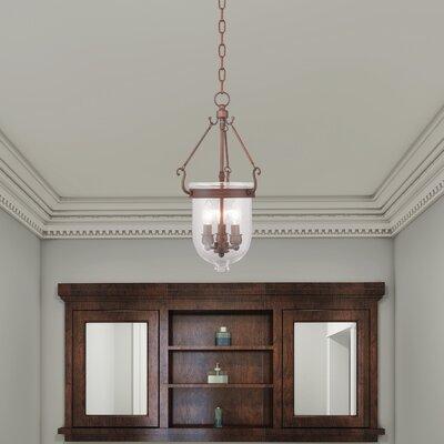 Lauder Foyer Pendant Size: 20 H x 10 W x 10 D, Finish: Vintage Bronze