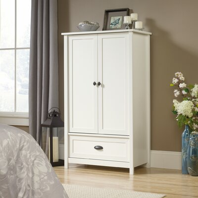 Rossford Armoire Finish: Soft White