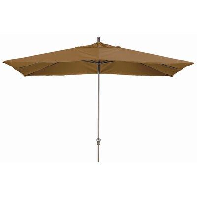 Chase 8 x 11 Rectangle Market Umbrella Fabric: Sunbrella A Canvas Teak