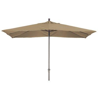 Chase 8 x 11 Rectangle Market Umbrella Fabric: Sunbrella-Camel