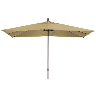 Chase 8 x 11 Rectangle Market Umbrella Fabric: Sunbrella-Heather Beige