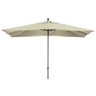 Chase 8 x 11 Rectangle Market Umbrella Fabric: Sunbrella-Natural