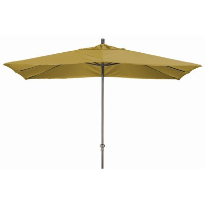 Chase 8 x 11 Rectangle Market Umbrella Fabric: Sunbrella A Brass