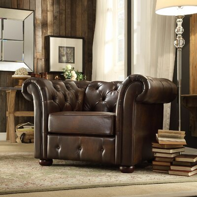 Berlin Oliver Tufted Button Chair and a Half