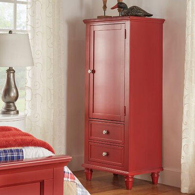 Isabella Armoire Color: Samba Red