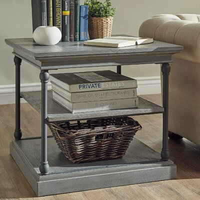 Gail End Table Color: Frosting Grey