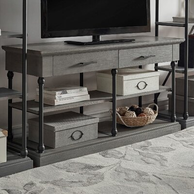 Gail 52 TV Stand Color: Frosting Gray