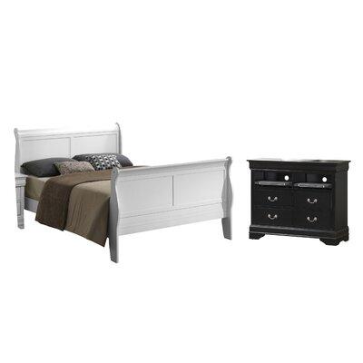 Caldello Twin Panel Customizable Bedroom Set