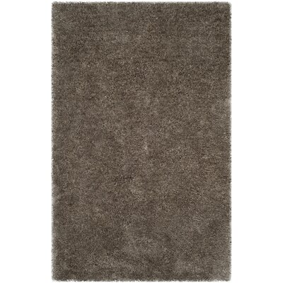 Highlawn Bavaria Hand-Tufted Silver Area Rug Rug Size: Rectangle 5 x 8