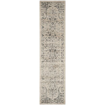 Minonk Beige/Blue Area Rug Rug Size: Rectangle 4 x 6