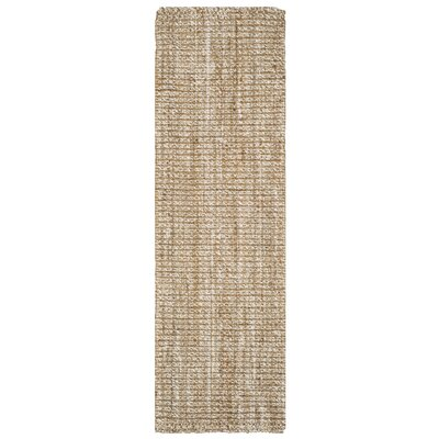 Natural Fiber Area Rug Rug Size: Runner 26 x 8