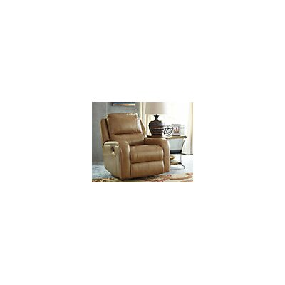 Waterloo Rocker Recliner Upholstery: Charcoal, Reclining Type: Manual