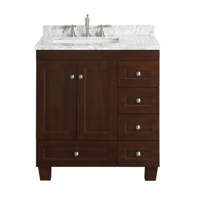 Plymouth 31 Single Bathroom Vanity Set
