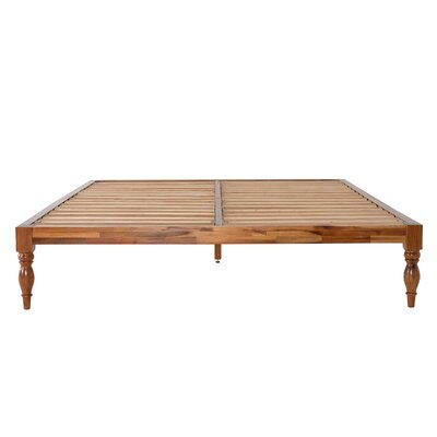 Calibos Wood Bed Frame Size: King