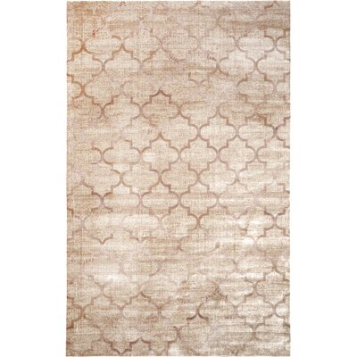 Archdale Ivory Area Rug Rug Size: Rectangle 27 x 8