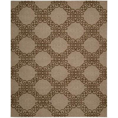 Cedarwood Hand-Woven Almond Area Rug Rug Size: Rectangle 7'9