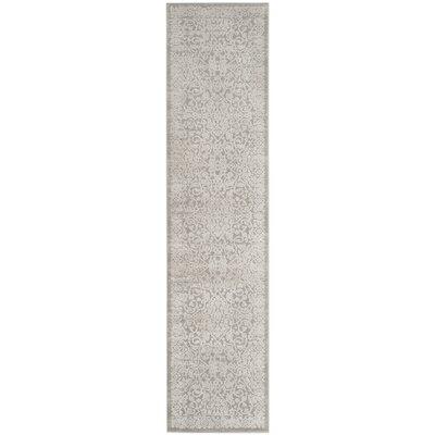 Douglass Gray/Beige Area Rug Rug Size: Rectangle 26 x 4