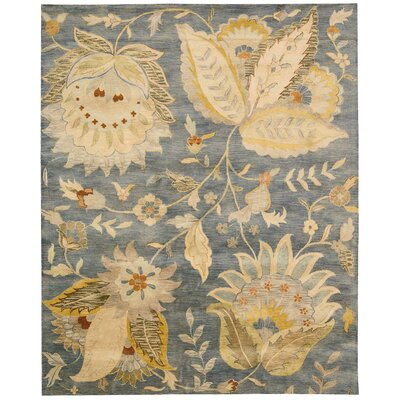 Delaware Denim Area Rug Rug Size: Rectangle 83 x 116