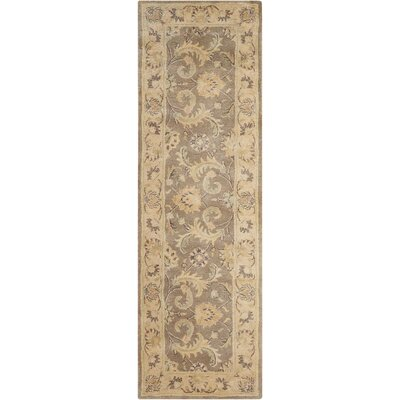 Fullmer Taupe Area Rug Rug Size: Runner 24 x 8
