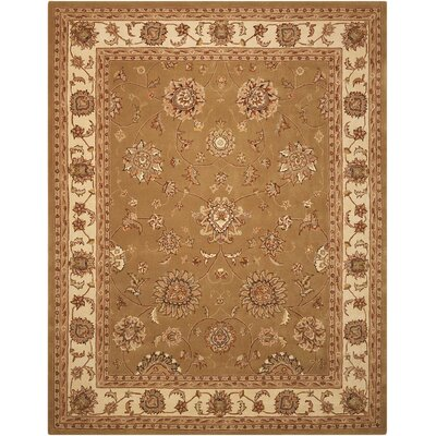 Ottoville Hand-Tufted Olive/Beige Area Rug Rug Size: Rectangle 79 x 99