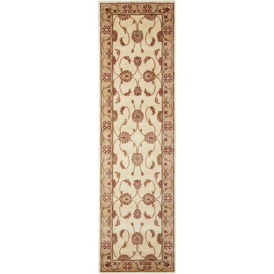 Proctorville Ivory Area Rug Rug Size: Runner 23 x 8