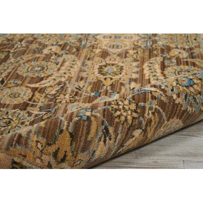 Gaunt Mocha Area Rug Rug Size: Rectangle 86 x 116