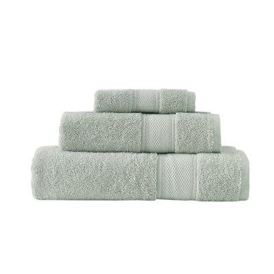 Aster 3 Piece Towel Set Color: Sage