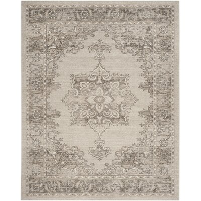 Carmel Beige & Brown Area Rug Rug Size: Rectangle 10 x 14