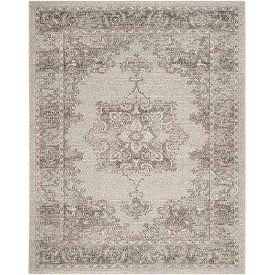 Carmel Beige & Brown Area Rug Rug Size: Rectangle 10 x 14