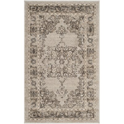 Carmel Beige & Brown Area Rug Rug Size: Rectangle 3 x 5