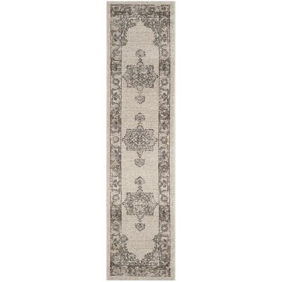 Carmel Beige & Brown Area Rug Rug Size: Runner 2 x 10