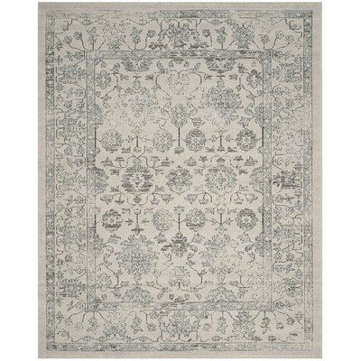 Carmel Beige/Gray Area Rug Rug Size: Rectangle 10 x 14